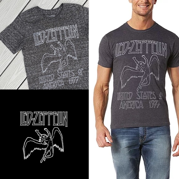 Led Zeppelin USA 1977 T-Shirt - S
